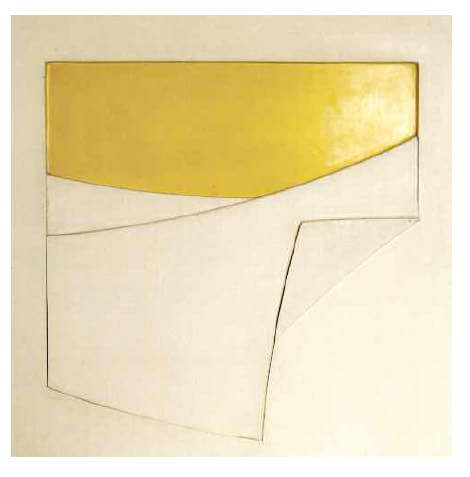 Composition in white and yellow n.11, 1969