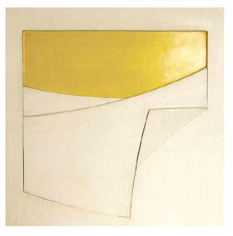 Composizione in bianco e giallo n.11, 1969