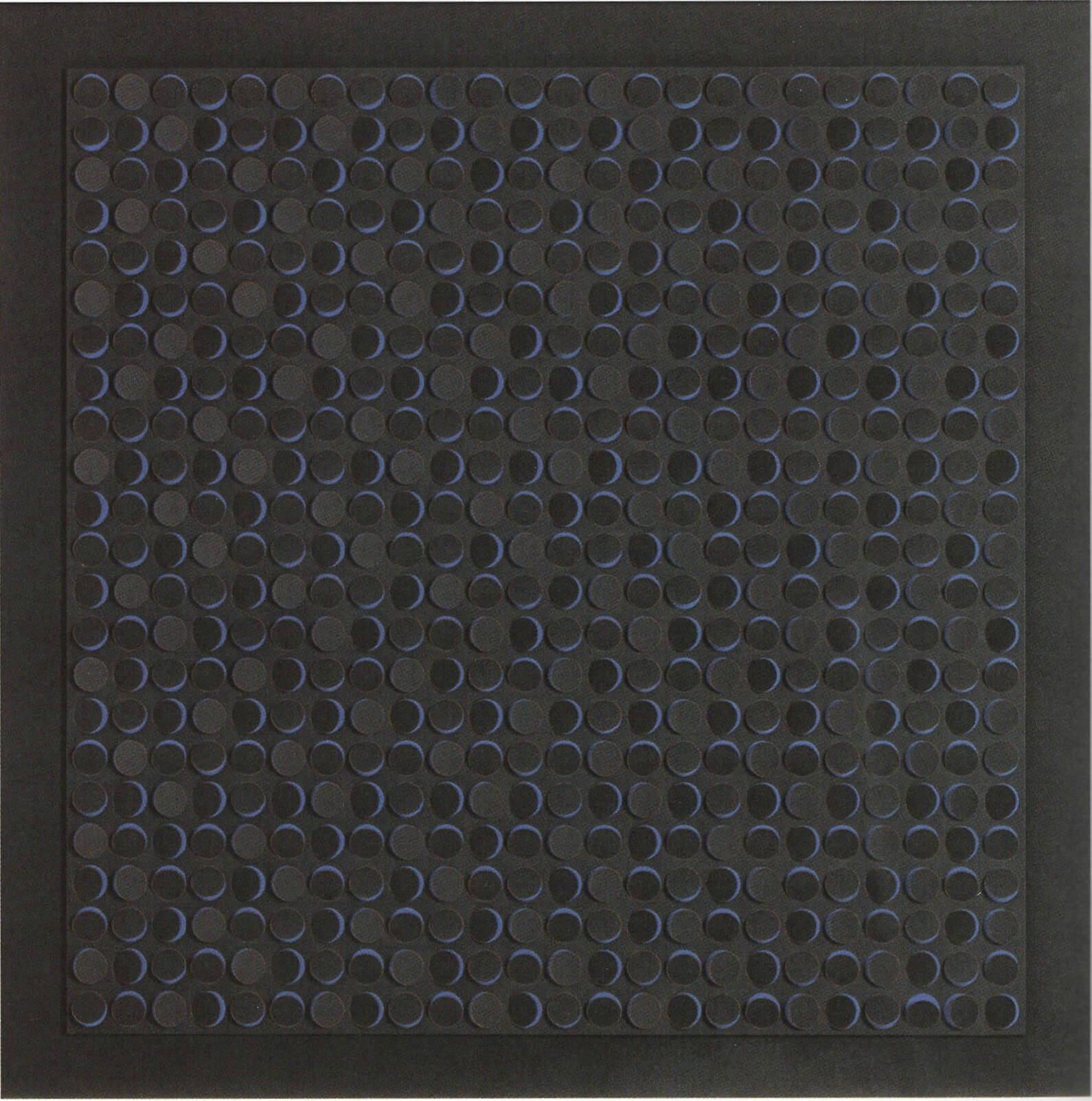 Light interference surface on blue, 1996