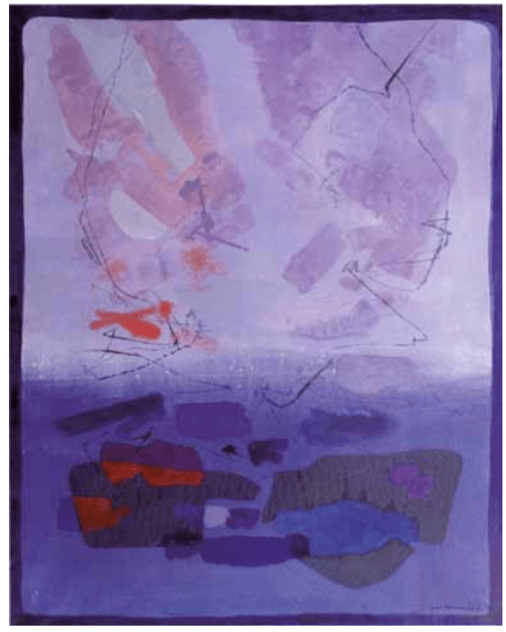 Sequenze in viola, 1991 – Gino Morandis