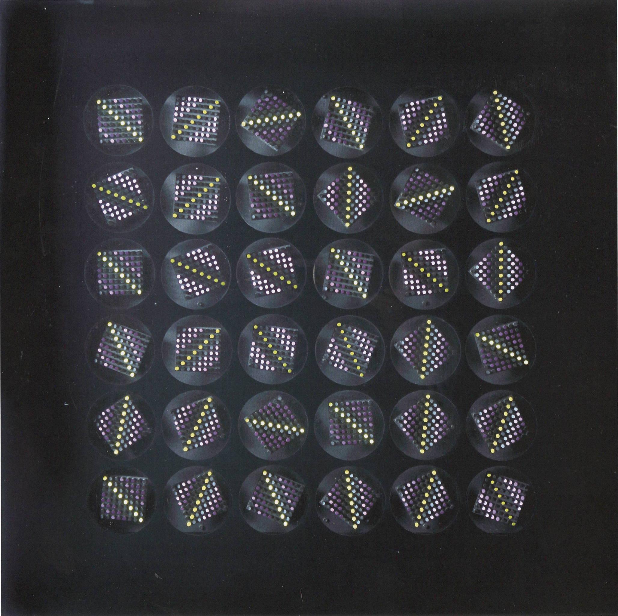 Oggetto quadro ruotante, 1975