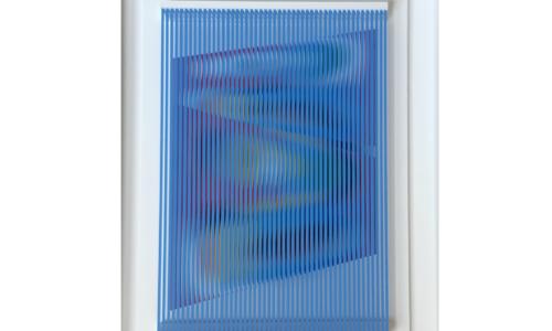 Tra le pieghe del vento 2, 2009 – Alberto Biasi