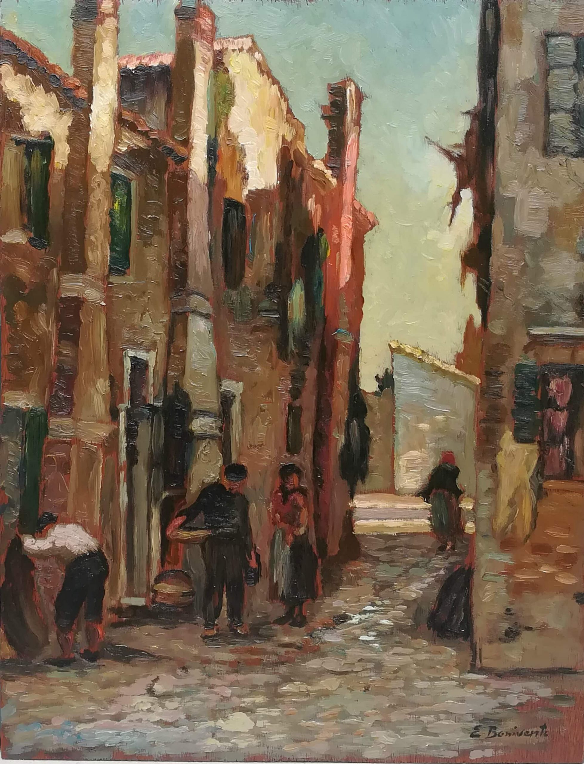 Calle di Burano, in the 20s