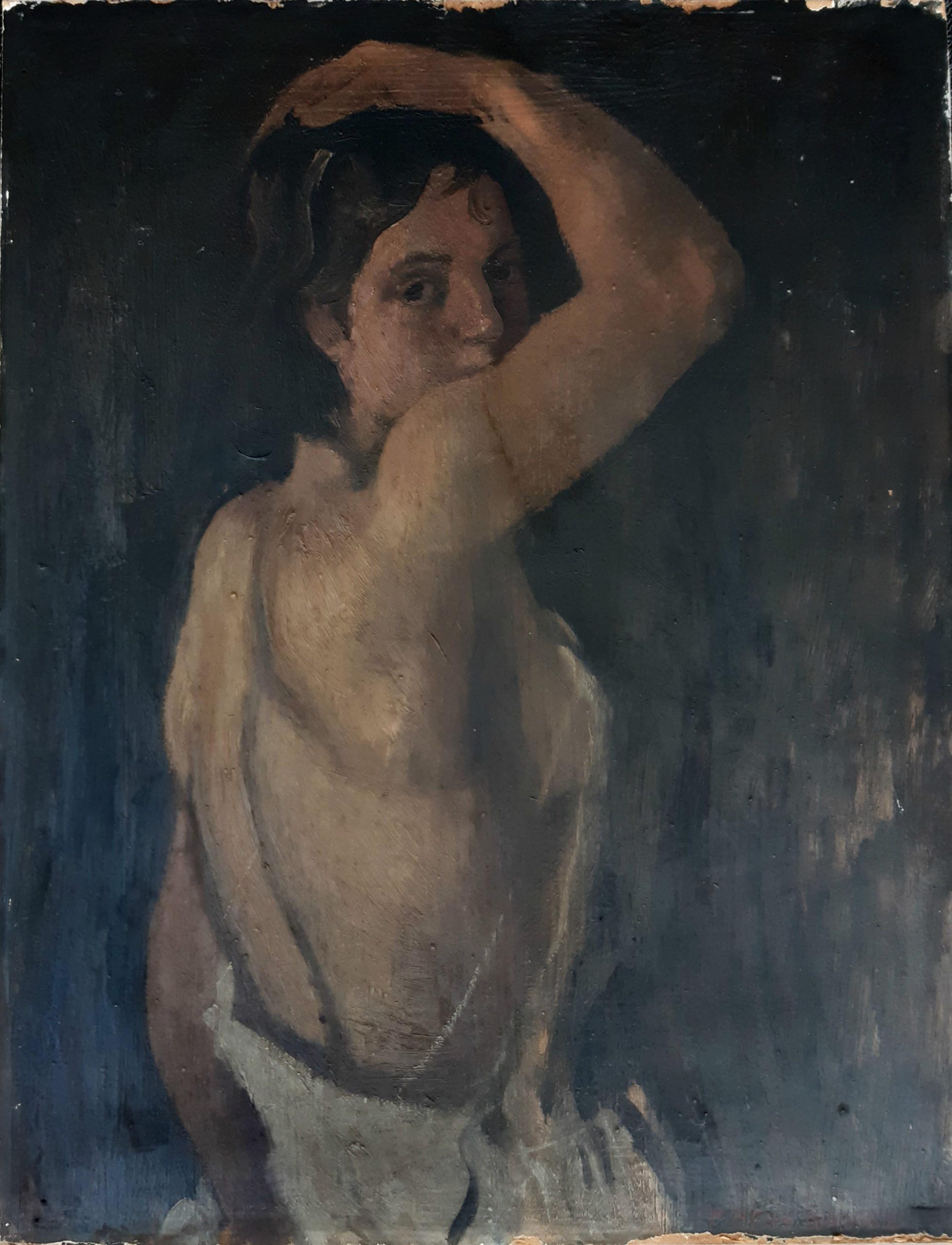 Torso, in the 30s